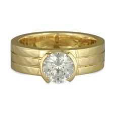 Marcello Engagement Ring in 18K Yellow Gold