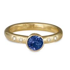 Simplicity Engagement Ring in 14K Yellow Gold