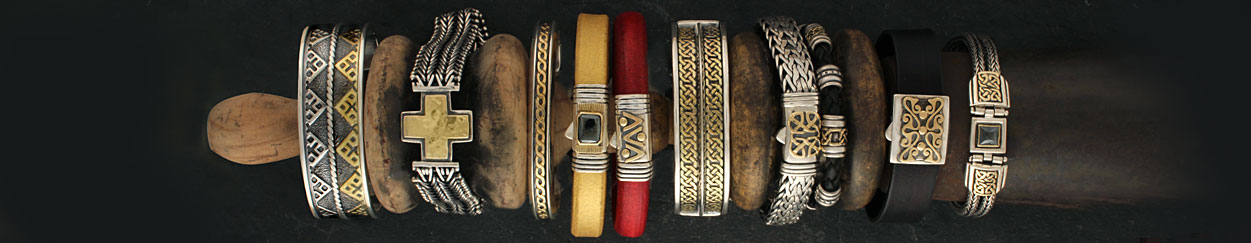 Fair Trade Gold Mens Bracelets