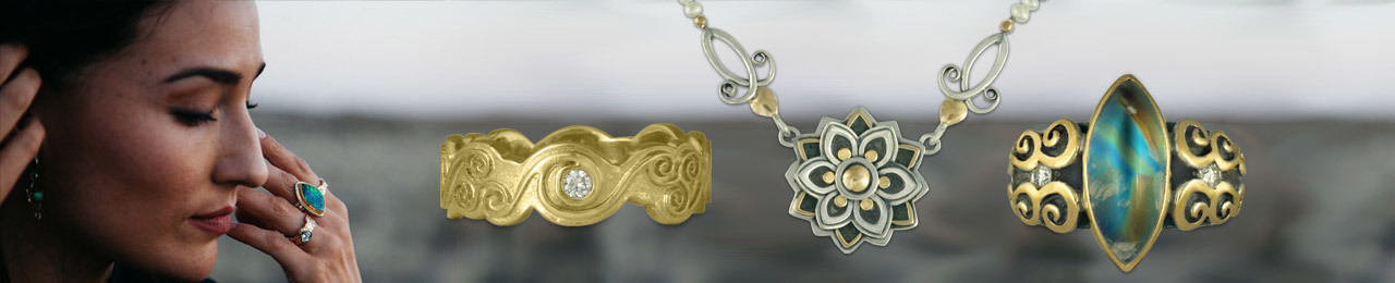 Women's Jewelry with Fair Trade Gold