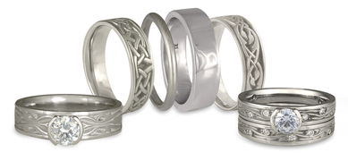 Platinum Symbolism in Rings